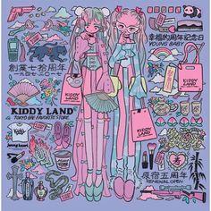 Kiddyland Art by Jenny Kaori