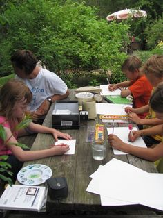 Nature Notebook: Nature Study in a Small Group