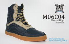 Marapulai shoes Merapi high handmade sneakers by MarapulaiClothing, €110.00