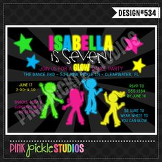 16 Best Dancing Invitation Cards Images Invitations Dance Party