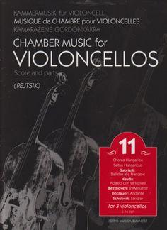 Chamber Music for Cellos, Volume 11 (Cello Trios) Score & Parts
