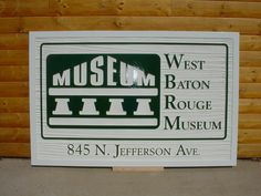 Designed for West Baton Rouge Museum