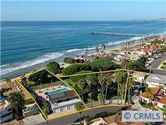 1 Acre flat Ocean front lot, San Clemente, CA