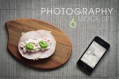 6 iPhone Photography Mock-Ups by Lucas Alexander on @creativemarket