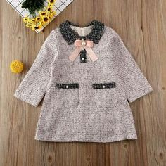 Be elegant with a heart with this super cute outfit ready to shine among the crowd. Fall Outfits, Kids Outfits, Cute Outfits, Plaid Dress, Coat Dress, Dresses Kids Girl, Baby Girl Fashion, Spring Dresses, Cheap Dresses