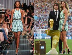 Gisele Bundchen In Louis Vuitton - 2014 FIFA World Cup Brazil Final. Re-tweet and favorite it here: https://twitter.com/MyFashBlog/status/488861327247433728/photo/1