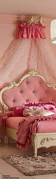 House Of Tomorrow, Rose House, Feminine Bedroom, Pink Palace, Princess Room, Shabby Chic Bedrooms, Pink Room, Everything Pink, Pink Eyes