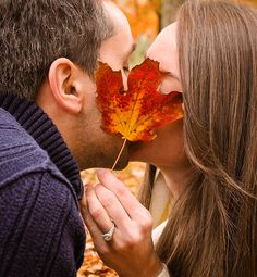 Fall Engagement Shoot || RedeemedPhotography || Couple Photoshoot. Fall Photoshoot. Couple Poses. Fall Couple Pose. Kissing Pose.