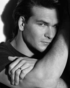 In memory of Patrick Swayze, actor, dancer, artist, male, guy, hot, sexy, beautiful, masculine, R.I.P., Dirty Dancing, portrait, photograph, photo