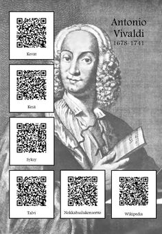 Antonio Lucio Vivaldi, Music Worksheets, History For Kids, Music Composers, Primary Music, Elementary Music, Music Classroom, Music Theory, Teaching Music