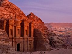 The half-built city of Petra is one of Jordan's main attractions, but the famous archaeological site has been receding in the last century due to a combination of wind, rain, and the constant touching of its walls by tourists — which is why you should avoid touching any of its perimeters when visiting the site.