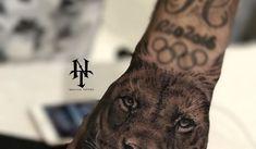 Neymar S Latest Tattoo On His Hand 27 10 17 Lion Hand Neymar S Tattoos And The. Lion And Lioness Tattoo, Tiger Face Tattoo, Lion Hand Tattoo, Mens Lion Tattoo, Tattoo On, Head Tattoos, Sleeve Tattoos, Neymar Jr Tattoos