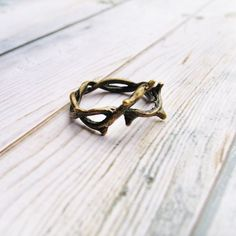 Creative Flower Vine Twigs Handmade Ring|Fashion Rings - Womens Accessories - ByGoods.com