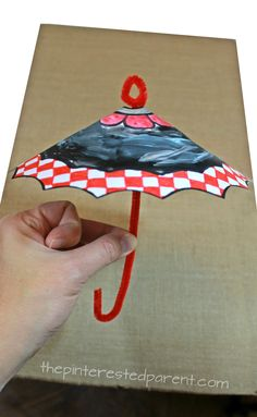 This pretty spring umbrella craft is perfect for the spring. Your kids will love designing their own umbrellas. They are so much fun, you will want to make them again and again.