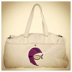 THE AVIATOR Duffel Bag JPAERO- 100% cotton canvas. click TO BUY http://www.cafepress.com/jpaero.1667828456 #avgeek #bag #pilots #canvasbag
