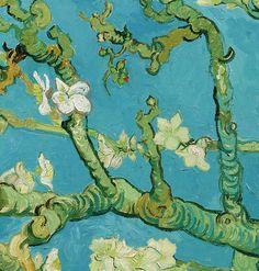 detailsdetales: Almond Blossom (1890) Vincent van Gogh