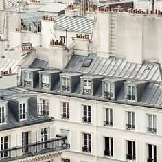 Paris Rooftops  Paris photography  Rooftop by EyePoetryPhotography, $30.00