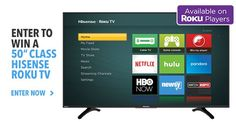 Enter for your chance to win a new Roku TV Sweepstakes! I entered here! http://bit.ly/2m0SRTN