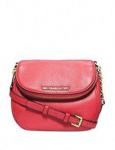27fa0b77e4da45 Michael Michael Kors Bedford Pebble Leather Crossbody #Handbagsmichaelkors