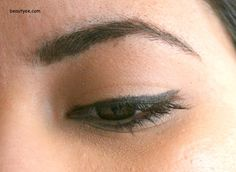 Painterly paint pot and Bobbi Brown Mahogany eyeliner! best combo for oily lids! did not budge for 8hrs!