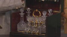 Likörbar, Anfang 20. Jhdt, in Italien nachgemacht, es ahmt Napoleon III. Likörkästchen,schatulle 1860 nach.  Wert 300 €