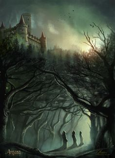 The Forest of Dark Aster by maril1.deviantart.com on @deviantART