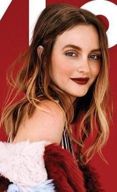 Leighton Meester NYLON cover Nov 2014