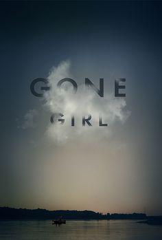 """""""Gone Girl"""" poster on Behance"""