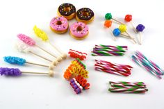 Reserved Custom Listing for sweetsoles1 Lollipops Doughnuts Food For 18 inch Dolls American Girl