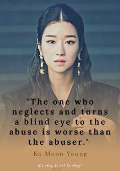 Korea Quotes, Quotes Drama Korea, Korean Drama Quotes, Drama Memes, Korean Drama Best, Korean Drama Movies, Korean Dramas, It Will Be Ok Quotes, Words Can Hurt