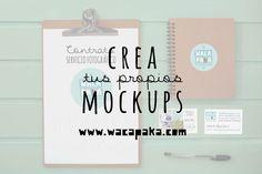 Tutorial para crear tus propios mockups | wacapaka