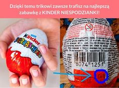 Dzięki temu trikowi zawsze trafisz na najlepszą zabawkę z KINDER NIESPODZIANKI! School Projects, Projects To Try, Guter Rat, School Kit, Weekend Humor, Diy Crafts To Do, How To Train Your Dragon, Best Friend Gifts, Creative Gifts