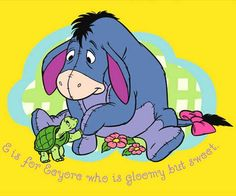 I think  Eeyore is my spirit animal