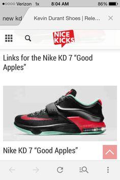Good apples kds Kevin Durant Shoes, Kd 7, Kd Shoes, Apples, Kicks, Sneakers Nike, Fashion, Nike Tennis, Moda