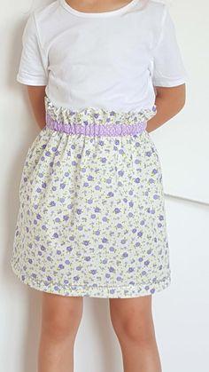 Easy Paper Bag Skirt Tutorial