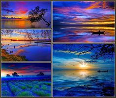 ~Katarina~Collage by Miss Katarina Colorful Pictures, Beautiful Pictures, Good Morning Cat, Nature Landscape, Good Night Friends, Framed Wallpaper, Color Collage, Beautiful Collage, Collages