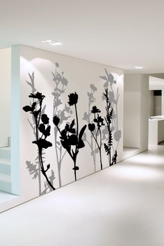 Wall Decals Floral Tree 2- WALLTAT.com Art Without Boundaries