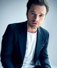 Why does he have to be so damn good looking! I love Sebastian Stan he's amazing!