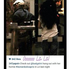 Hmm hmm! didn't I post about their alleged growing relationship the other day! ☕ (Photo via: @247papstv) #OooLaLaBlog #RihannaNavy #Rihanna #LeonardoDiCaprio #celebritycouples?
