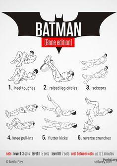 Batman workout - Bane edition