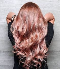 #rosegold #hair