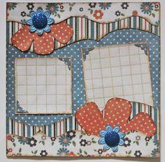 Designed by Debbie Budge using Mini Madison Avenue, Tiny Wildflower, Mini Photos