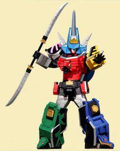 •Samurai Megazord - Power Rangers Samurai