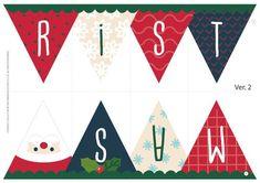 [크리스마스 가랜드 만들기] 메리크리스마스 깃발 가랜드! – 보블리 Christmas Activities For Kids, Kids Christmas, Christmas Cards, Xmas, Diy Garland, Christmas Clipart, Christen, Dear Santa, Doll Accessories