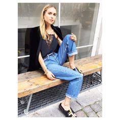@lookdepernille in @custommade_official - cool and beautiful as always! #regram #lookthepernille #custommade #blogger #cph #style #cool #chic #casual @custommade_flagshipstore