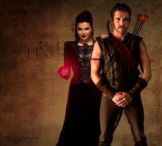 Robin Hood and Evil Queen | qual e o plano entre regina e robin hood maggie