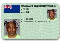 New Zealand Novelty ID card #noveltyid, #novelty #fakeid #nzfakeid