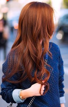 Ginger perfection #hair