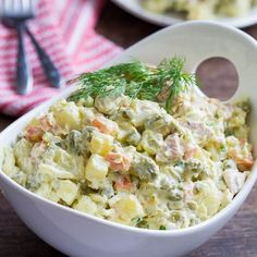 Ultimate comfort-food potato salad from my childhood.