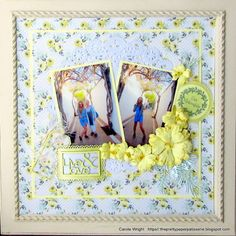 Live & Love every single day! FabScraps C105 Memory Lane collection.